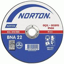 Disco De Corte Inox 178 x 2 x 22mm BNA22 - Norton -