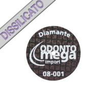 Disco de Corte Megadisc Diamante - Odontomega - Ref.08-001 - Unique