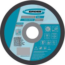 Disco de Corte Para Inox e Metal 115 x 1,0 x 22 mm l Gross 7436155 -