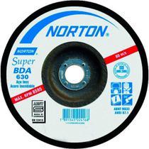 """Disco De Desbaste Inox 7"""" x 1/4"""" x 7/8"""" BDA630 - Norton -"""