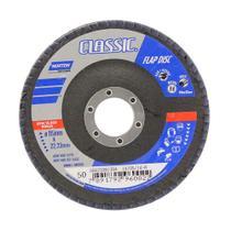 Disco de desbaste para metais 115x22mm grão 50 preto Norton -