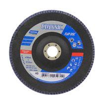 Disco de desbaste para metais 180x22mm grão 40 preto Norton -
