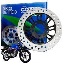 Disco de freio honda titan 160 fan 160 cg cobreq -