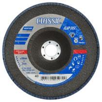 """Disco de lixa flap disc 7"""" - R822 (80) - Norton"""