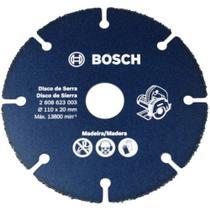 Disco De Serra Para Madeira Especial 110mm X 20MM - Bosch -