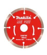 Disco Diamantado Mak-Fast D-08785, Vermelho Prata - Makita
