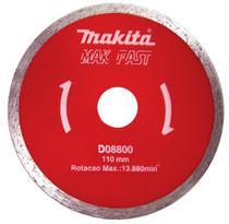 Disco Diamantado Mak-Fast D-08800, Vermelho Prata - Makita