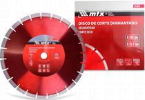 Disco Diamantado Para Concreto E Asfalto 350mm Pastilha 15mm - MTX