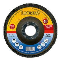 Disco Flap Lineato 4.1/2 X  40 Za - Rcdeletrica