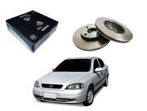 Disco freio dianteiro mds chevrolet astra sedan aro 13 1.8 1998 a 2004 -