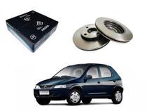 Disco freio dianteiro mds chevrolet celta 1.4 2003 a 2007 -