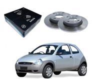 Disco freio dianteiro mds ford ka 1.0 1.3 1997 a 2000 -