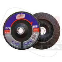 Disco Lixa Flap D 4.1/2x120gr. Disflex - Atlas