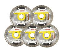 Disco Original Turbo Pedra Cerâmica 110mm Kit C/5 - Bosch -