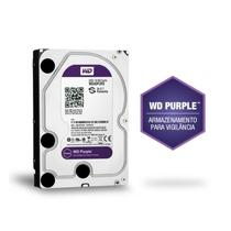 Disco rígido wd purple para cftv hd 3t -