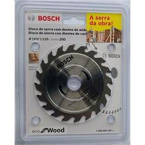 Disco Serra Circular Bosch Eco D110MM 20 Dentes