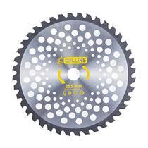 Disco Serra Circular Roçadeira Videa 255mm 40 Dentes Furo 20mm Collins -