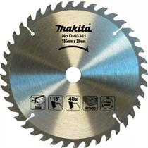 Disco Serra / Madeira Circular 185x20x40d Videa D-03361 Makita -