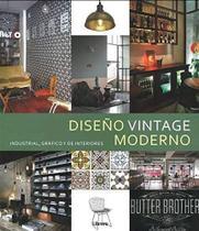 Diseño Vintage Moderno. Industrial, Gráfico Y de Interiores - Librero