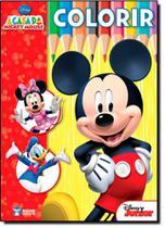 Disney: A Casa do Mickey Mouse - Colorir - Bicho Esperto - Rideel -