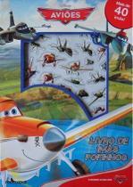 Disney avioes - livro de imas fofinhos - Editora Melhoramentos Ltda -