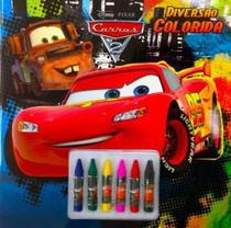 Disney - diversao colorida - carros 2 - Dcl difusao cultural do livro (itupeva) -