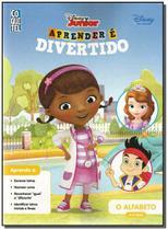 Disney Junior  - Aprender e Divertido - o Alfabeto - Ediouro ( normal )