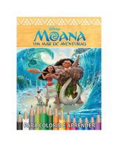 Disney Kit 5 em 1 com DVD - Moana - Bicho Esperto -