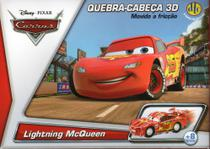 Disney Quebra Cabeça 3D Movido a Fricção Lightning McQueen - Dtc