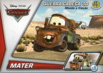 Disney Quebra Cabeça 3D Movido a Fricção Mater - Dtc