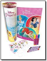 Disney - tubo historias e colorir - princesas - Dcl -
