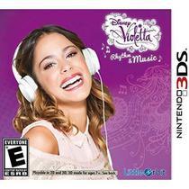 Disney Violetta Rhuthm E Music - 3Ds - Nintendo