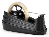 Dispensador de Fitas Adesivas Grande Waleu - Preto - 10010005 -