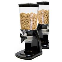 Dispenser de cereais de mesa porta mantimentos hermetico com medidor de porção kangur -