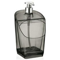 Dispenser de Detergente 500 ml - Translucido Preto - Uz - Uz.
