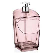 Dispenser de Detergente 500 ml - Translucido Rosa - Uz - Uz.