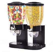 Dispenser p/cereais duplo redondo  2x1,5 lts duplo mimo style sf1876 -