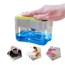 Dispenser Para Detergente E Bucha C/dosador Branco - Fwb