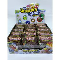 Display Com 30 un Grossery Gang Crusty Barra De Chocolate Dtc -