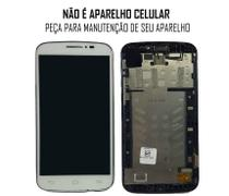 Display Frontal Alcatel C7 7040E Branco -