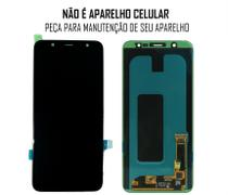 Display Frontal J8 Plus 2018 J805/ A6 Plus 6,2 Polegadas Preto Original sem Aro - Samsung