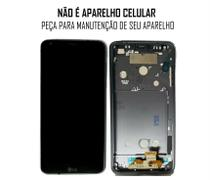 Display Frontal LG G6 H871 H872 Preto com Aro