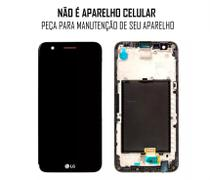 Display Frontal LG K10 2017 M250 Preto Original