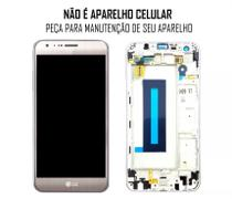 Display Frontal LG X Cam K580 Dourado Original com Aro