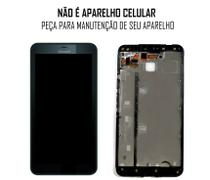 Display Frontal Nokia Lumia 640XL com Aro Preto