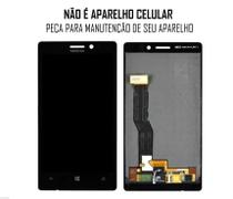 Display Frontal Nokia Lumia N925 Preto sem Aro