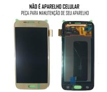 Display Frontal S6 G920 SM-G920 Original Importado Dourado - Samsung