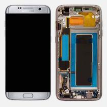 Display Frontal Samsung S7 Edge SM-G935 Prata com Aro