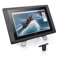 Display Interativo (mesa Grafica), Wacon, Cintiq, 21.5, FULL HD, Caneta GRIP PEN, 10 NIBS, Suporte - Vitrine