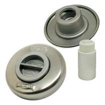 Dispositivo de Aspiração Inox Pratic 1 1/2'' para Piscina de Alvenaria Sodramar -